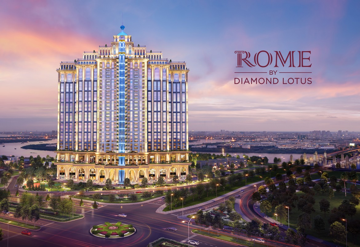 phoi canh tong the du an rome diamond lotus 01