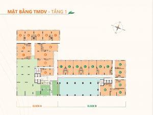 Mặt bằng tầng điển hình dự án căn hộ Ricca quận 9