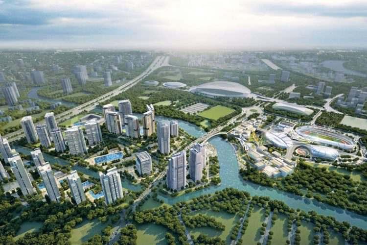 Saigon Sports City phoi canh du an saigon sports city 1