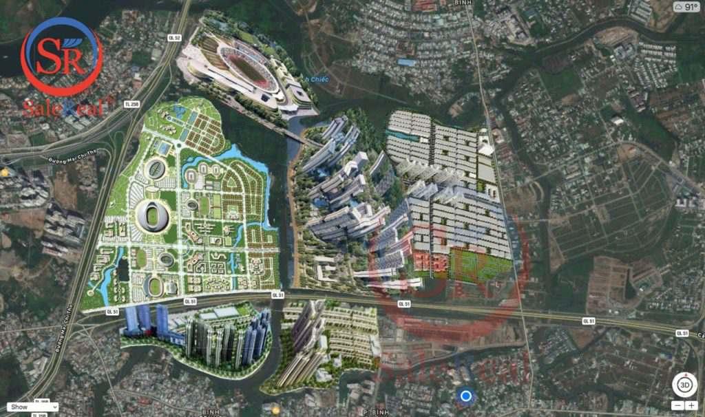 Saigon Sports City sai gon sport city tong the xung quanh
