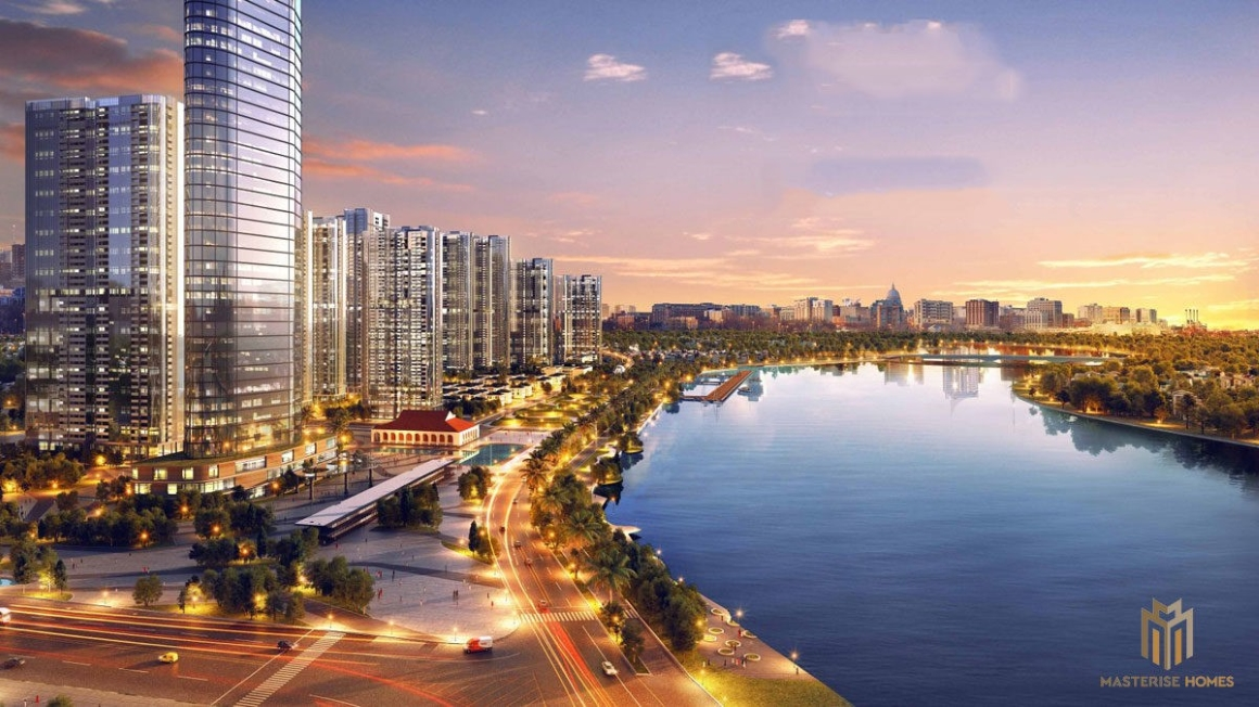 TIện ích View Sông Sài Gòn tại Dự án Masterise Homes Ba Son Quận 1