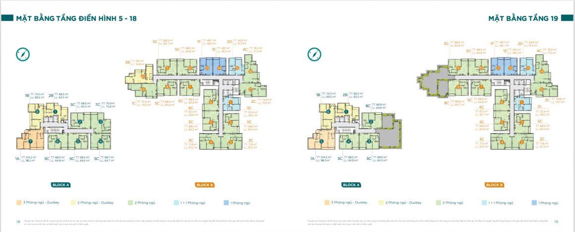 Mặt bằng tầng điển hình chi tiết dự án căn hộ D'lusso Quận 2. Xem thêm tại: https://muacanho.com.vn/du-an-dlusso-emerald-quan-2.html