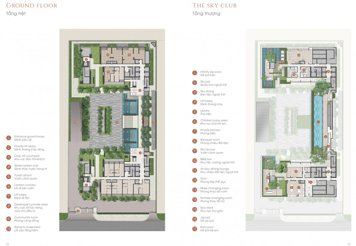 MB dự án và MB Tiện ích Dự Án The Marq Quận 1