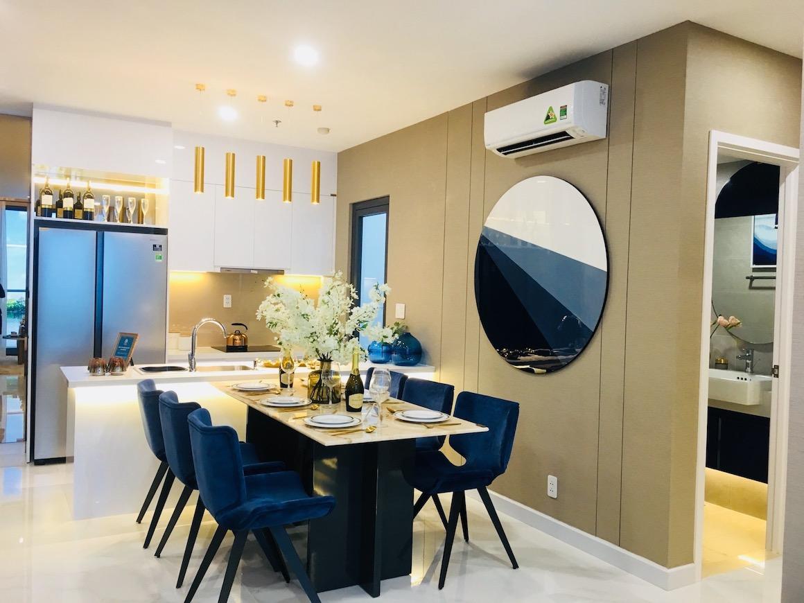 Thiết kế nhà mẫu dự án D'luso Quận 2. Hình ảnh từ căn hộ Duokey