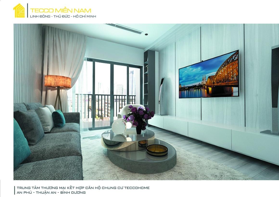 Nhà mẫu căn hộ tecco home BD 1
