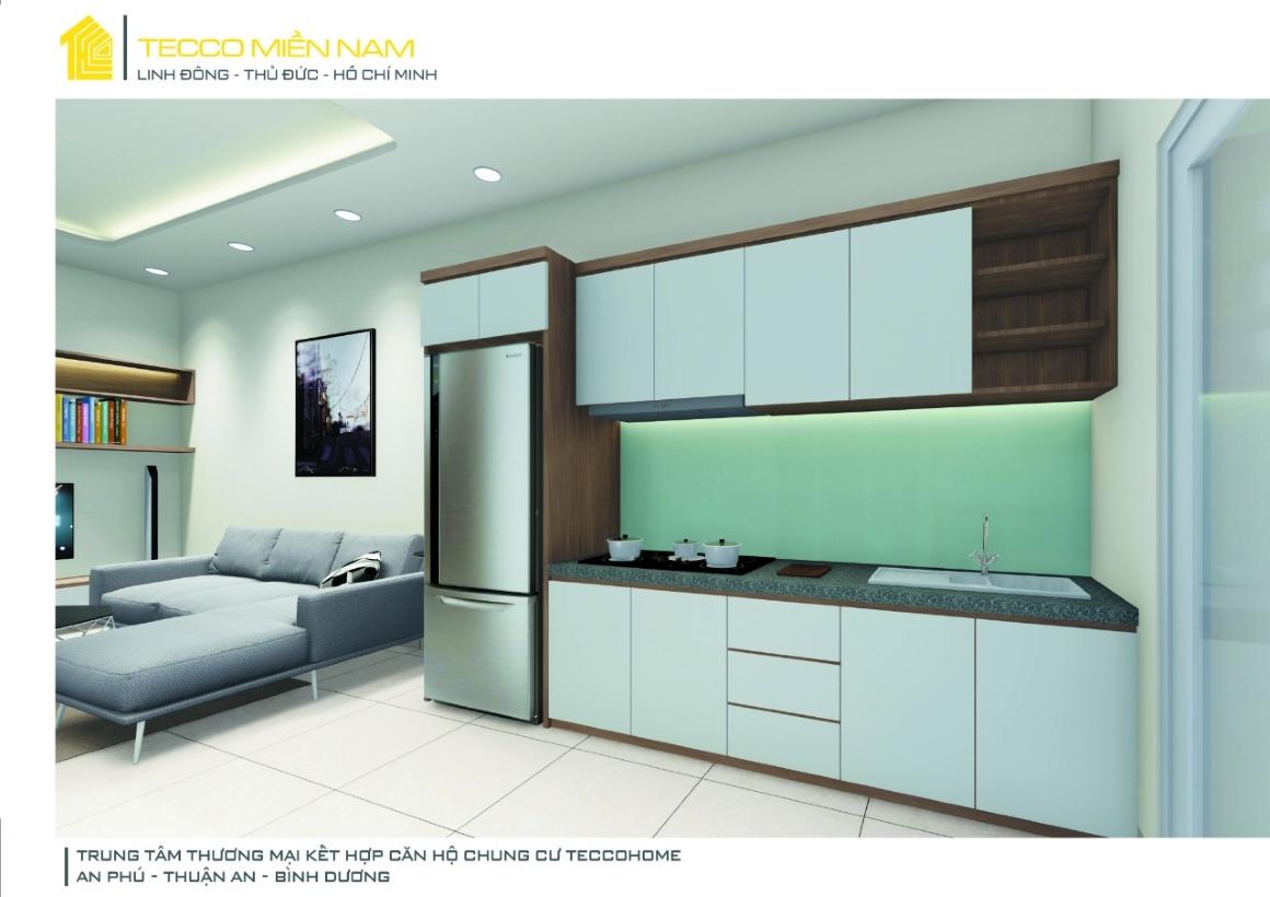 Nhà mẫu căn hộ Tecco Home BD 2