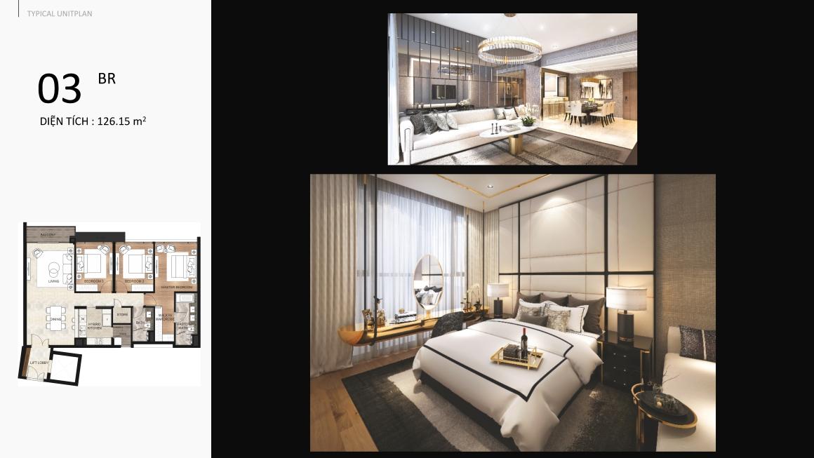 Thiết kế căn hộ dự á Detesco Lương Định Của