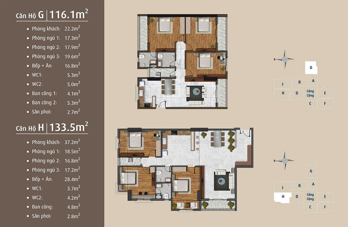 Thiết kế chi tiết căn hộ dự án Golden Grand