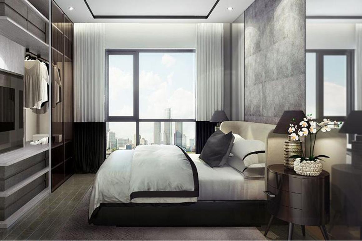 Thiết kế nhà mẫu căn hộ D1 Mension Quận 1