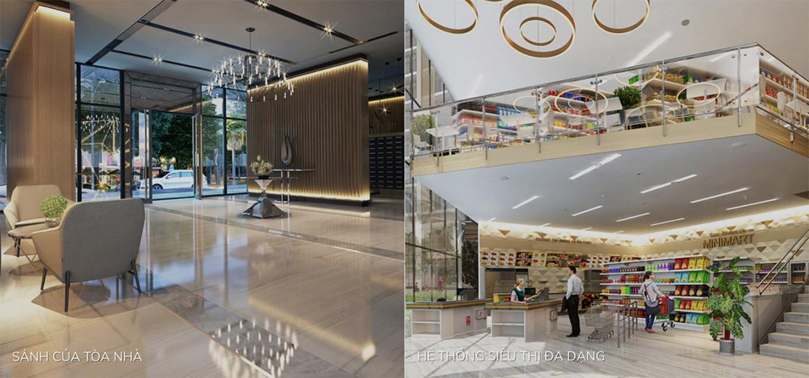 Tiện ích nội khu dự án căn hộ Golden Grand