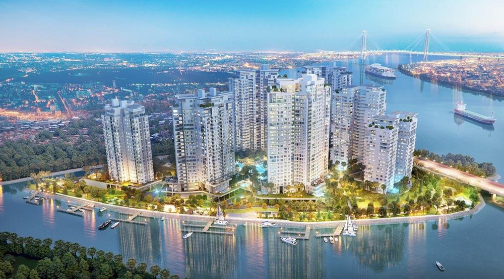 Top 09 dự án căn hộ chung cư ven sông tại Quận 2 năm 2020
