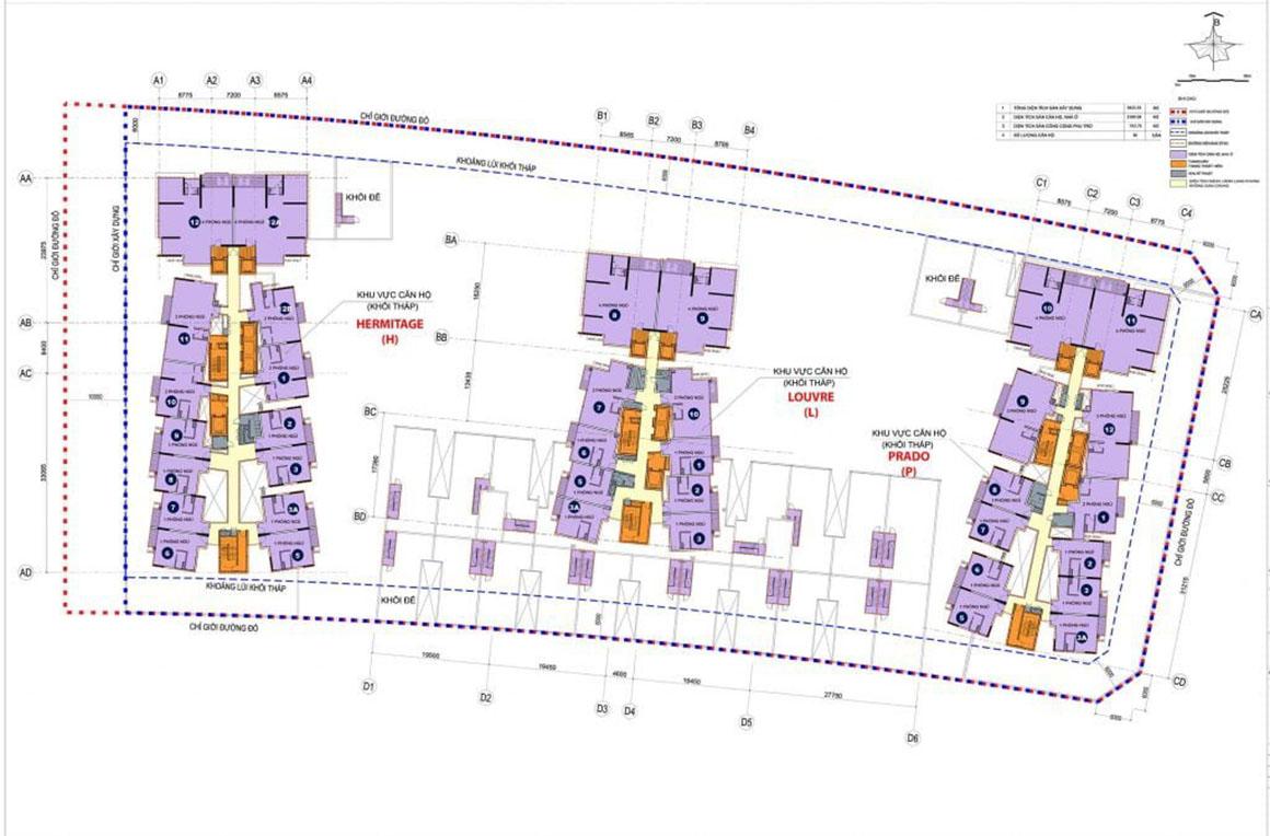 MB Căn hộ METROPOLE THỦ THIÊM Quận 2 - Giai Đoạn 1