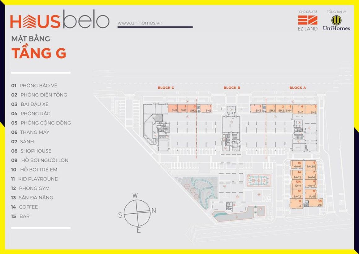 MBT G dự án Hausbelo quận 9
