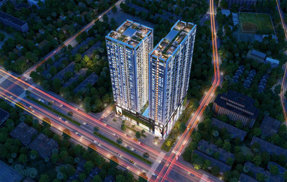 Phối cảnh căn hộ dự án Phú Đông Premier 2