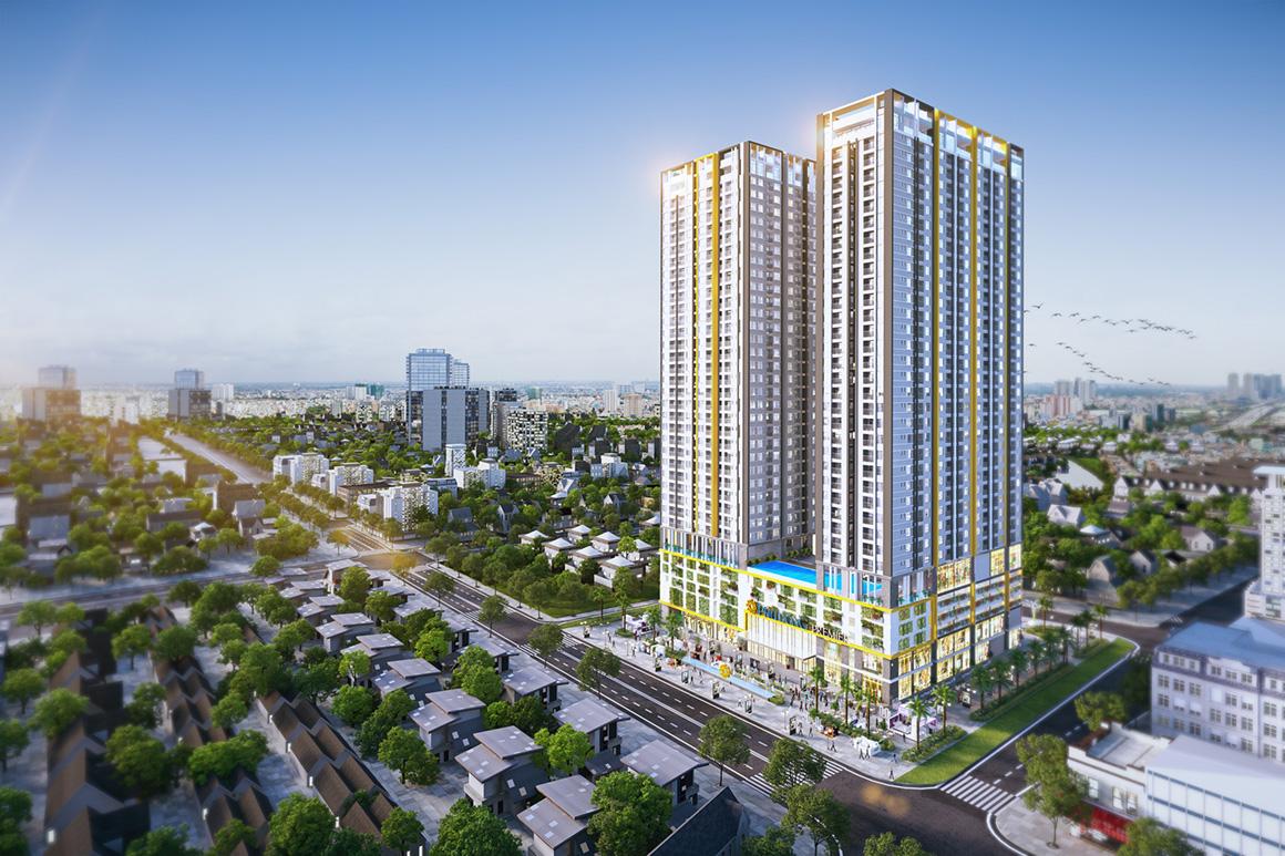 Phối cảnh căn hộ dự án Phú Đông Premier