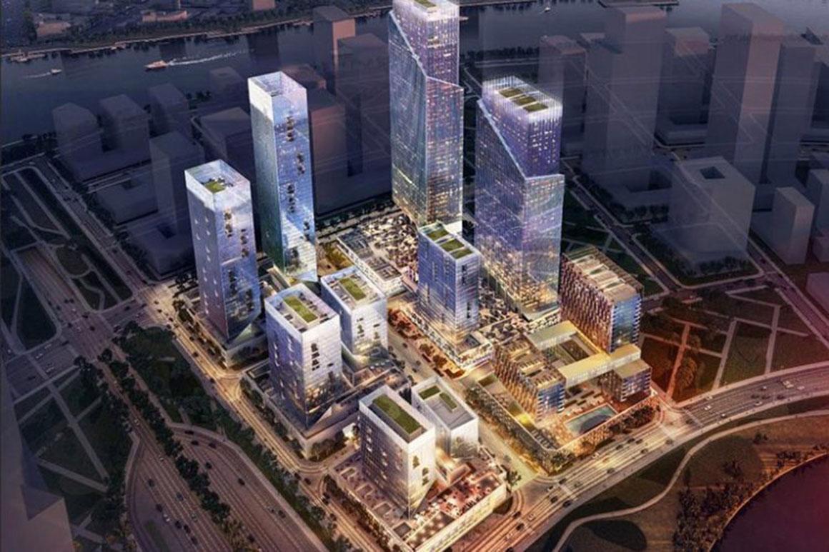 Phối cảnh dự án Eco Smart City Quận 2