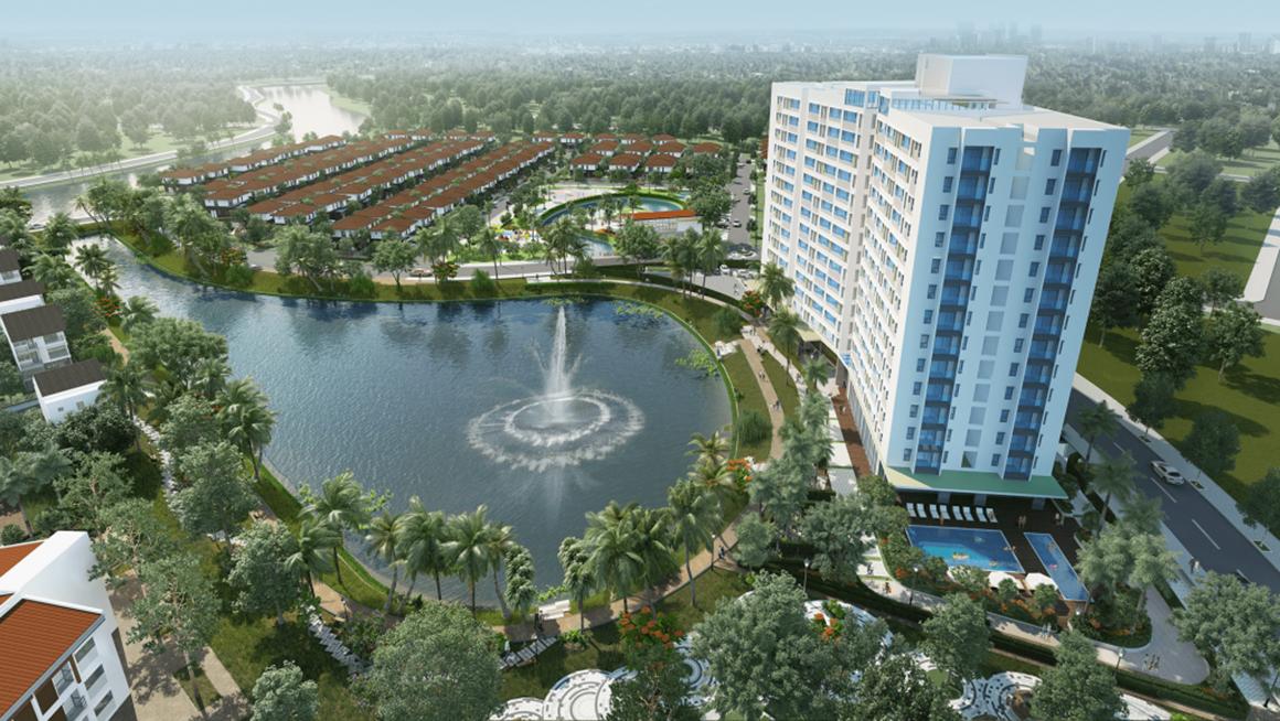 Phối cảnh khu đô thị dự án Flora Kikyo