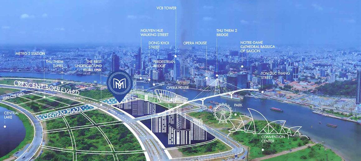 Phối cảnh tiện ích xung quang dự án METROPOLE THỦ THIÊM