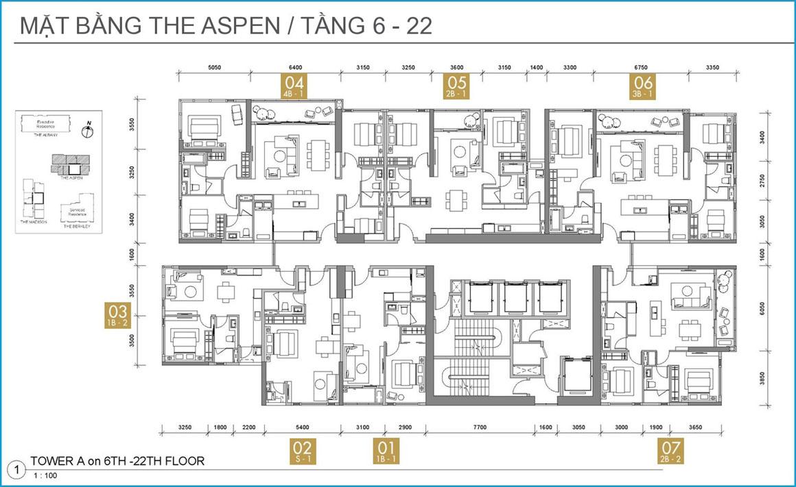 The-Aspen-1 dự án GATEWAY THẢO ĐIỀN QUẬN 2