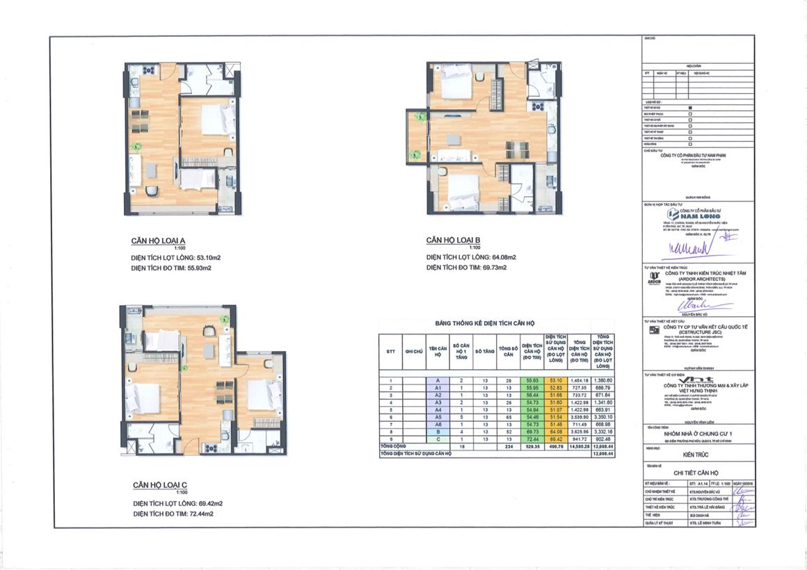 Thiết kế căn hộ dự án Flora Kikyo