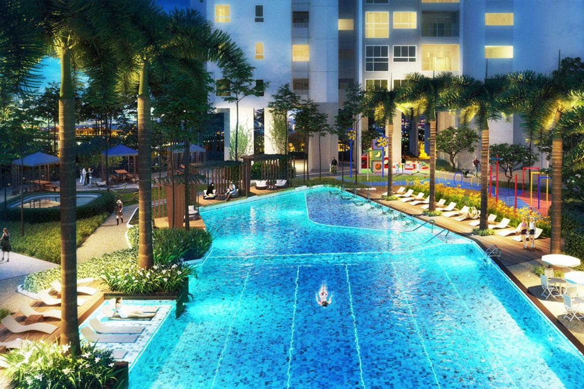 Tiện ích dự án Sadora Apartment