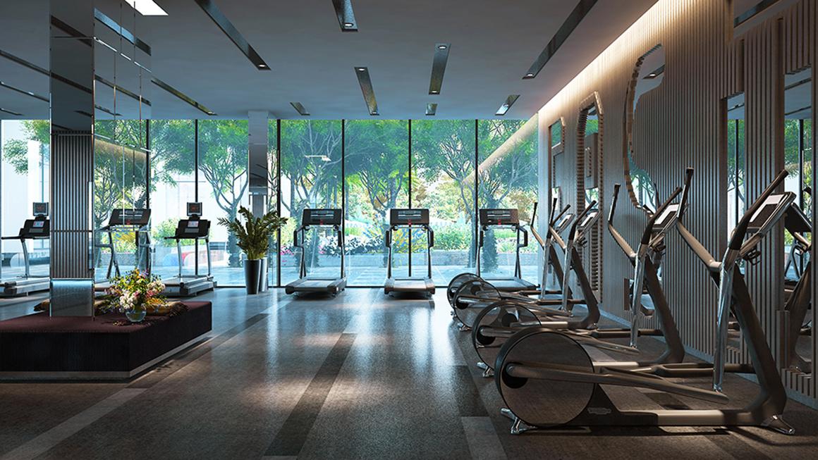 Tiện ích Phòng Gym dự án Phú Đông Premier