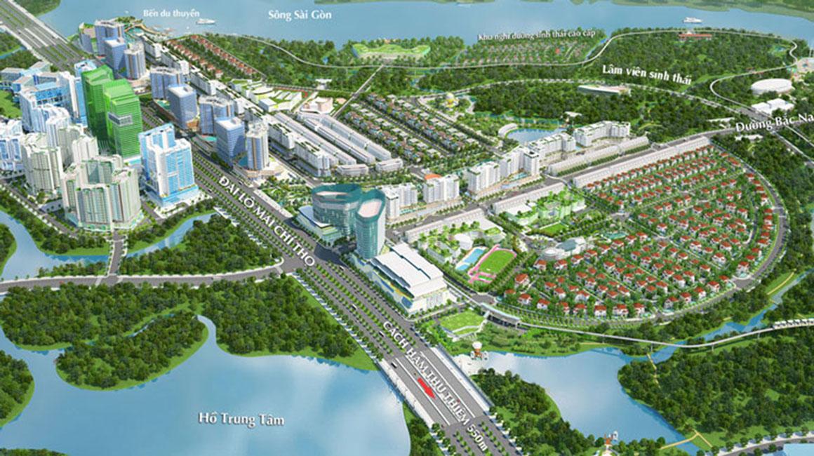 Tiện ích xung quanh dự án Eco Smart City Quận 2