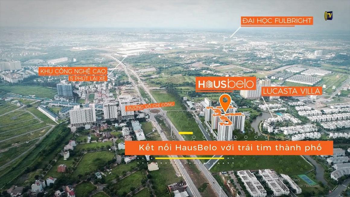Vị trí địa chỉ dự án Hausbelo quận 9