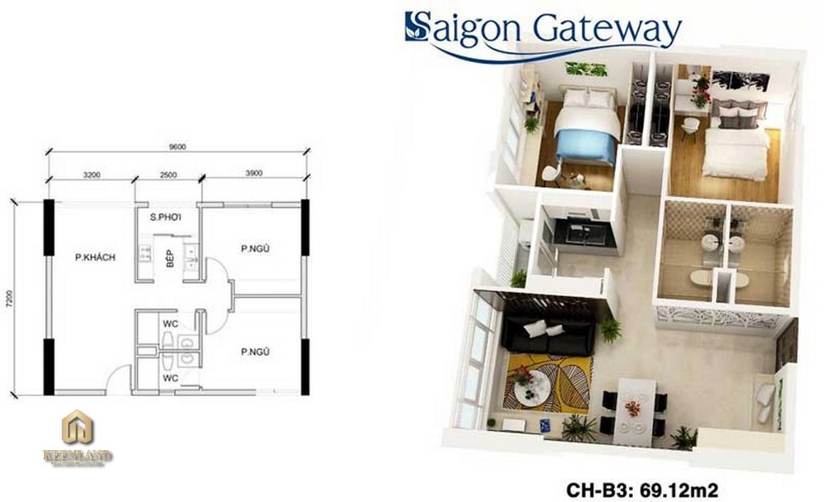 Mua bán cho thuê dự án Sài Gòn Gateway