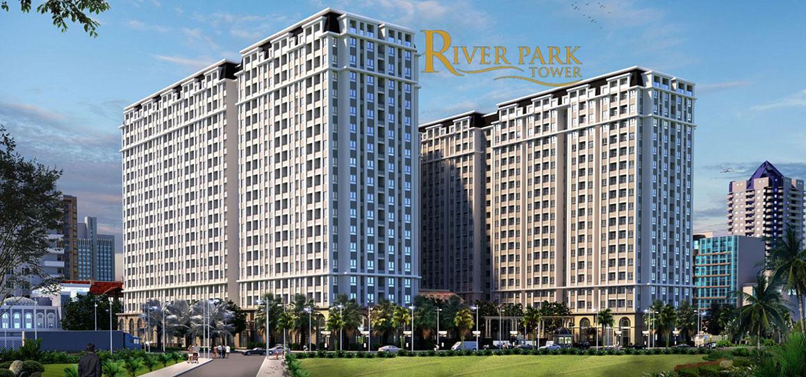 Phối cảnh căn hộ dự án RIVER PARK TOWER