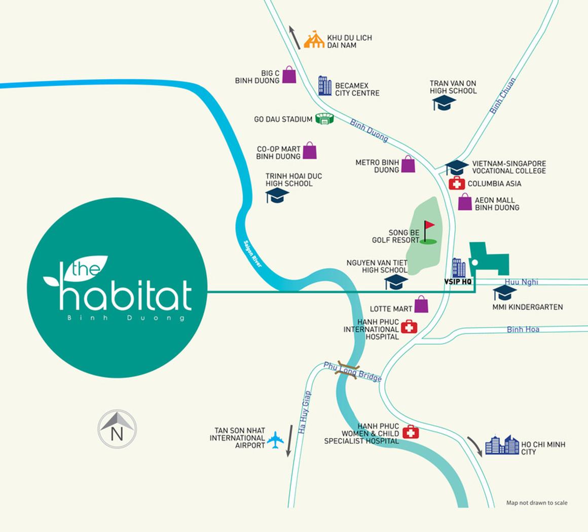 Vị trí dự án The Habitat