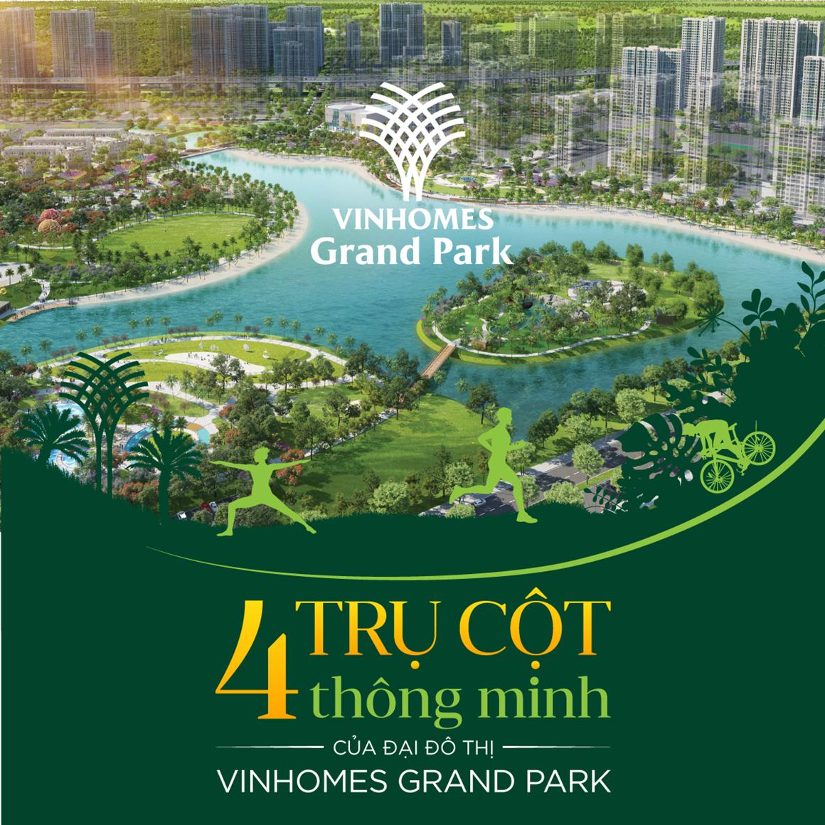 Vinhomes Grand Park Tiện Ích Thông Minh