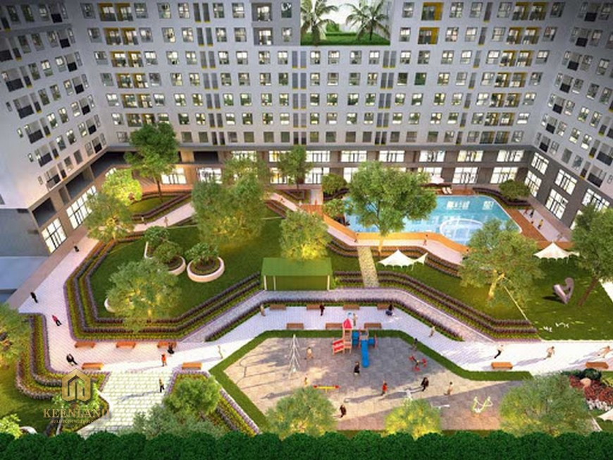 Vị trí địa chỉ dự án căn hộ chung cư Bcons Garden Dĩ An