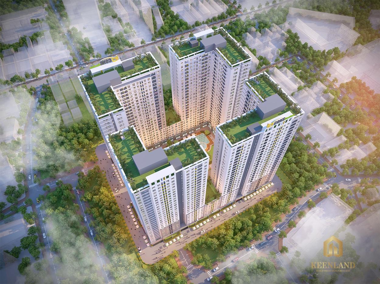 Phối cảnh dự án căn hộ Bcons Garden Bình Dương