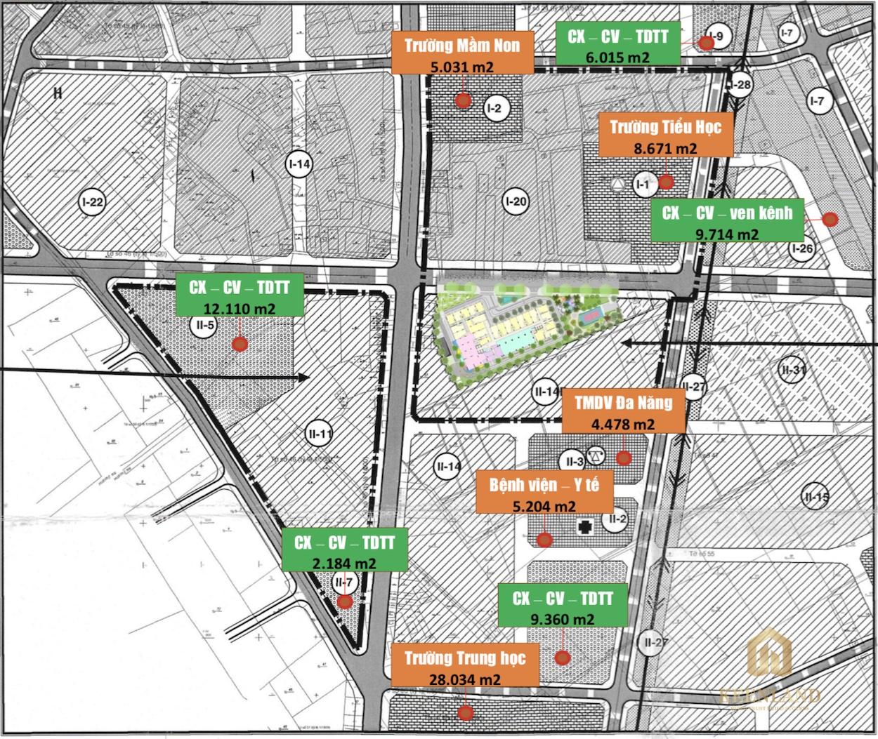 Quy hoạch giao thông tại dự án Ricca Quận 9