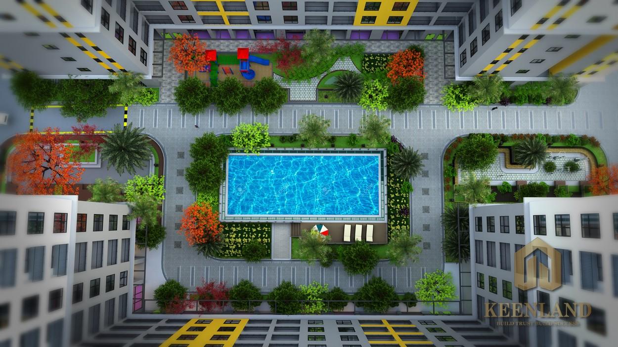 Phối cảnh dự án căn hộ Bcons Plaza Bình Dương - Mua Căn Hộ