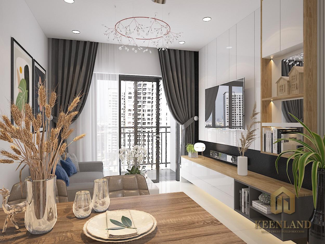 Bcons Plaza có thiết kế tối ưu công năng với diện tích nhỏ thông thoáng