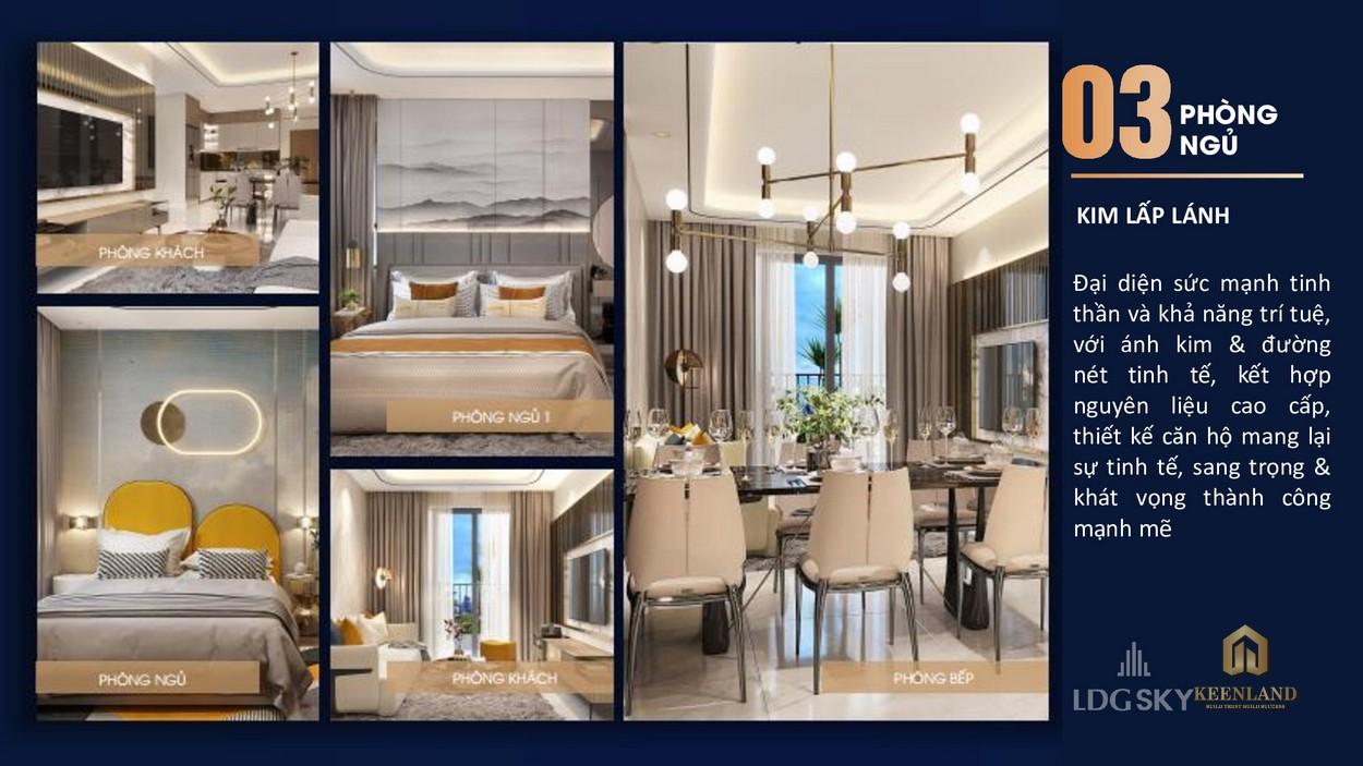 Thiết kế căn hộ LDG Sky Bình Dương
