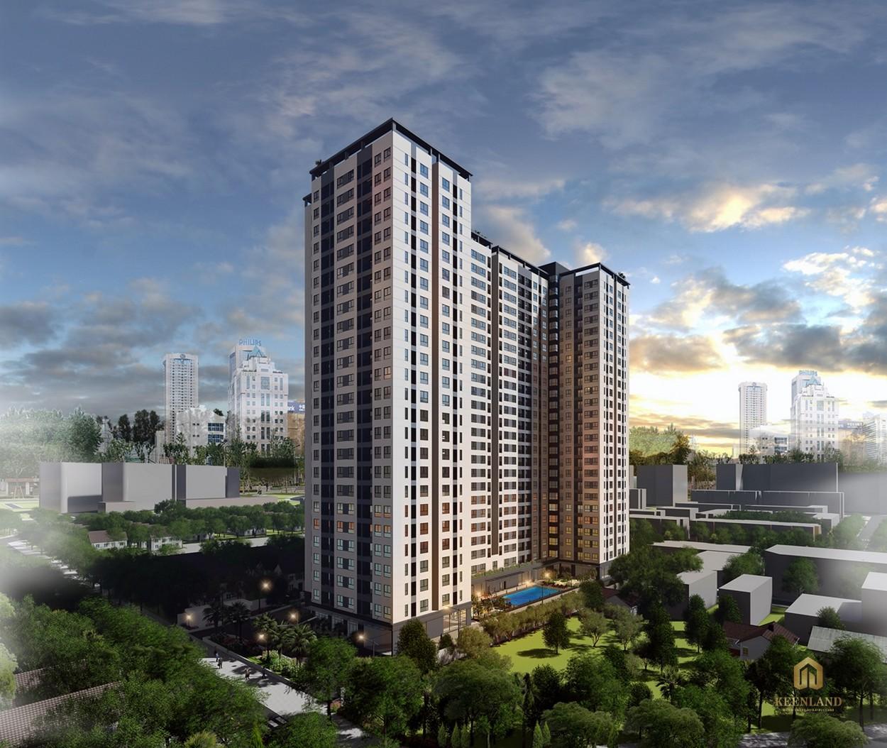 Phối cảnh dự án căn hộ chung cư Bcons Miền Đông