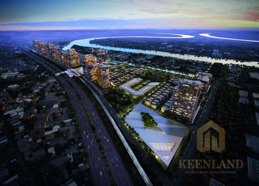 Vị trí địa chỉ dự án căn hộ chung cư River City Quận Thủ Đức