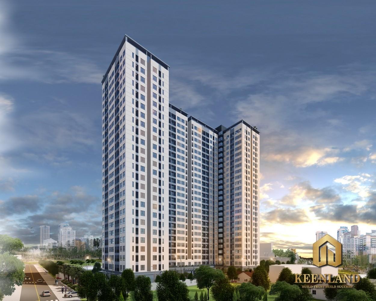 Phối cảnh dự án căn hộ Bcons Miền Đông Bình Dương