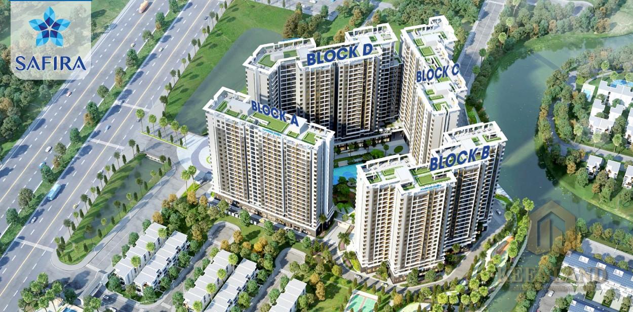 Mua bán cho thuê dự án căn hộ Safira Khang Điền Quận 9