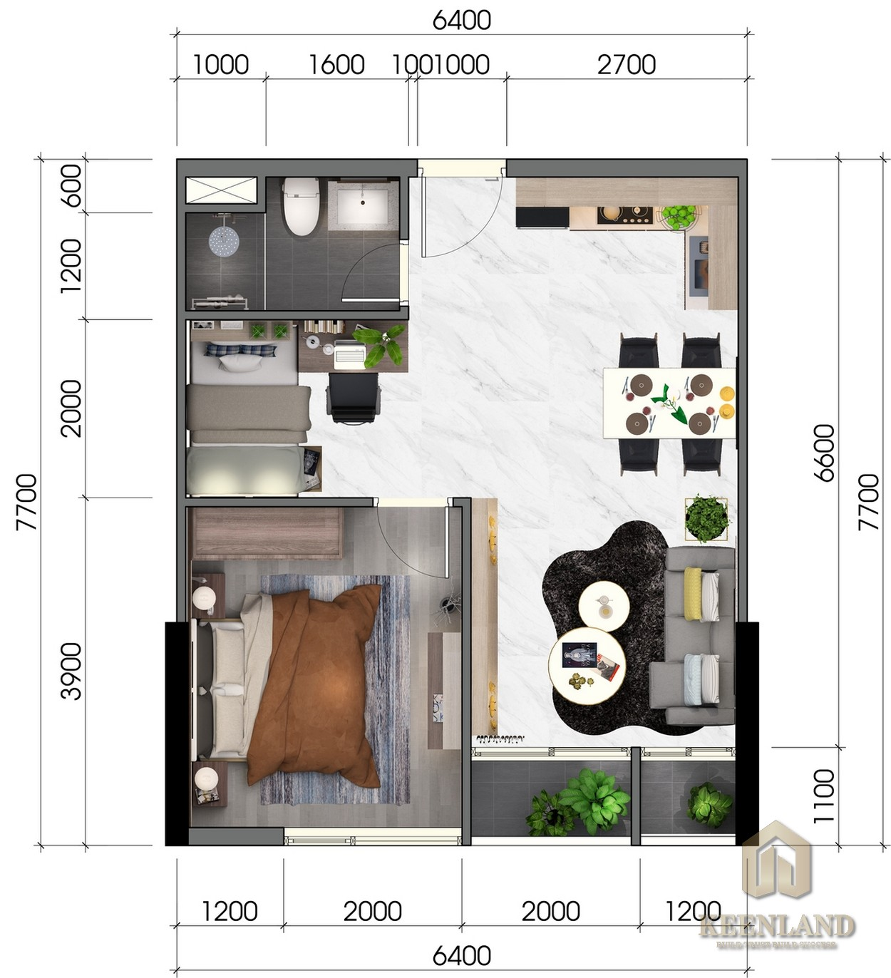 Mua bán cho thuê dự án căn hộ chung cư Thủ Thiêm Dragon quận 2