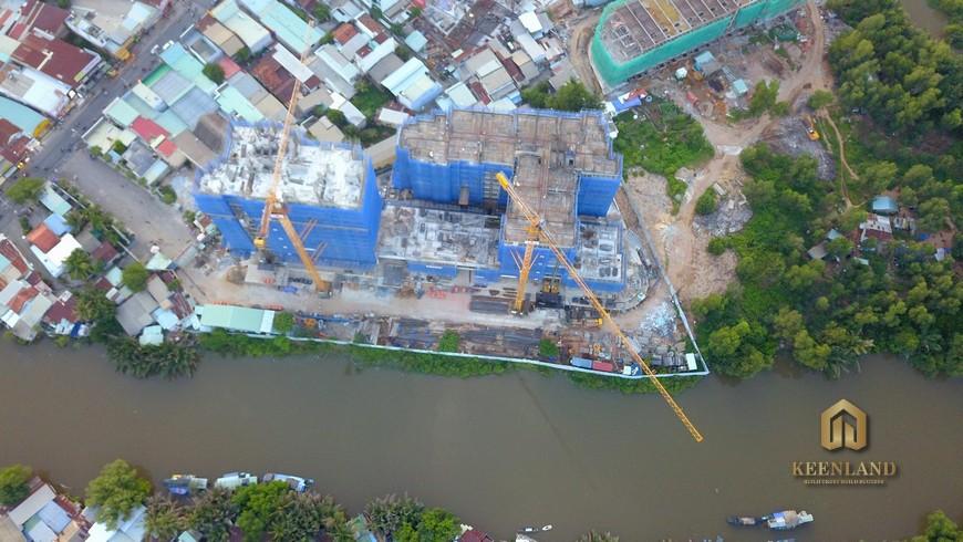Tiến độ dự án căn hộ D'Lusso Quận 2 Tháng 09/2020