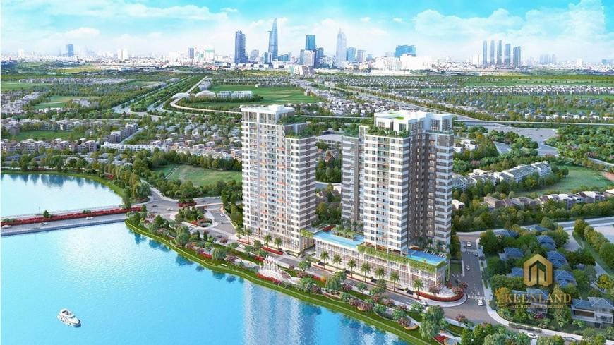 Tiến độ xây dựng dự án D'Lusso Quận 2 Tháng 09/2020 tien do du an dlusso 1