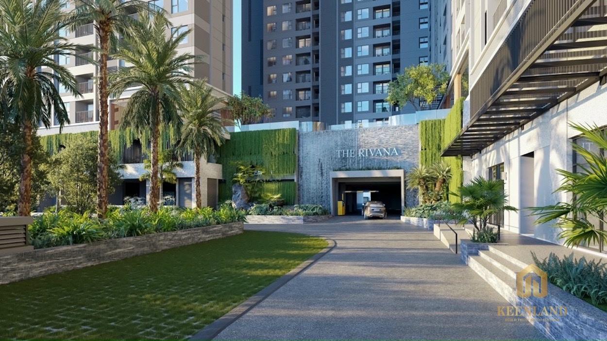 The Rivana Thuận An được thiết kế theo phong cách resort nghỉ dưỡng