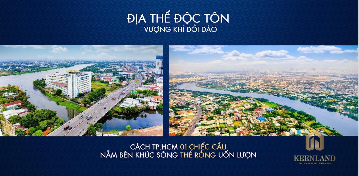 The Rivana Thuận An sở hữu vị trí độc tôn