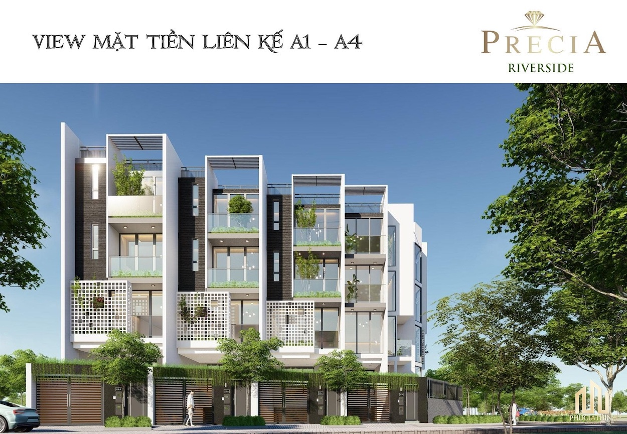 PRECIA RIVERSIDE QUẬN 2 view layout precia riverside