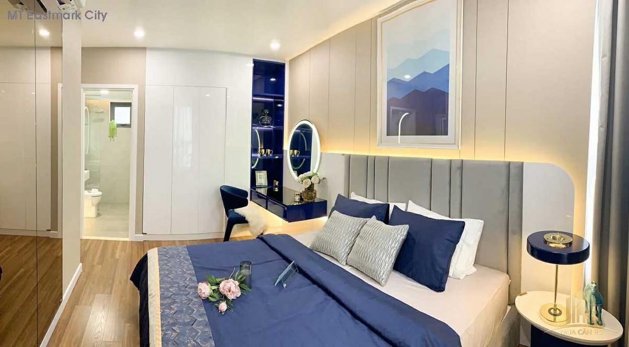 Phòng ngủ nhà mẫu dự án MT Eastmark City Quận 9