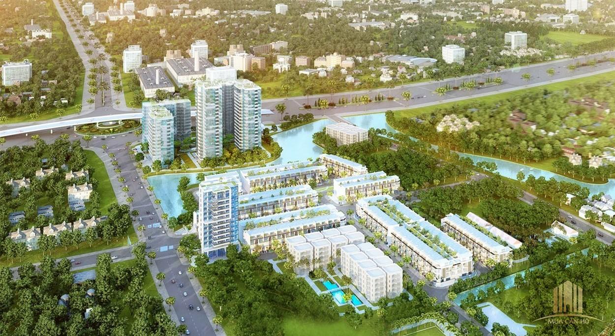 Phối cảnh dự án MT Eastmark City Quận 9